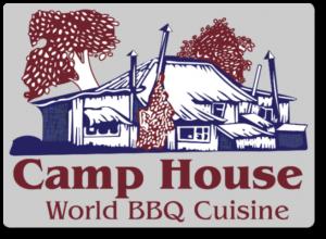 Camp House World BBQ Cuisine Logo